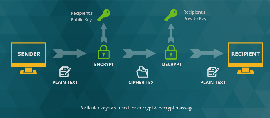 Encrypts The Data In HTTPS With SSL Certificate
