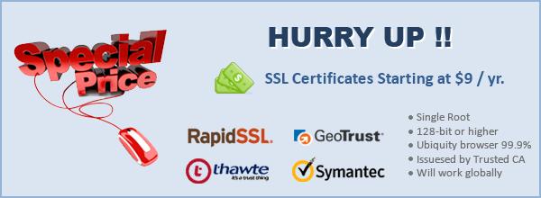 Cheap SSL