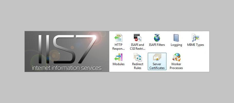 Generat CSR Wildcard SSL IIS 7