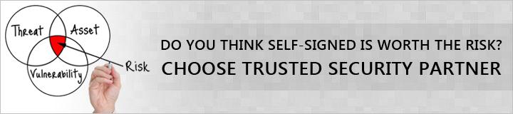 choose trsuted ssl certificate