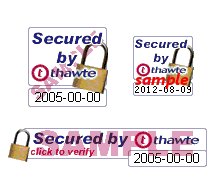 Thawte Trusted Site Seal