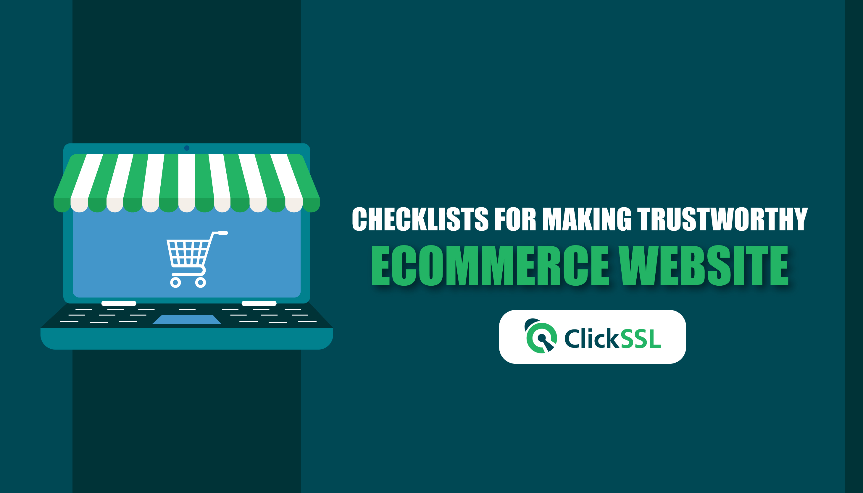 checklists for making trustworthy ecommerce website
