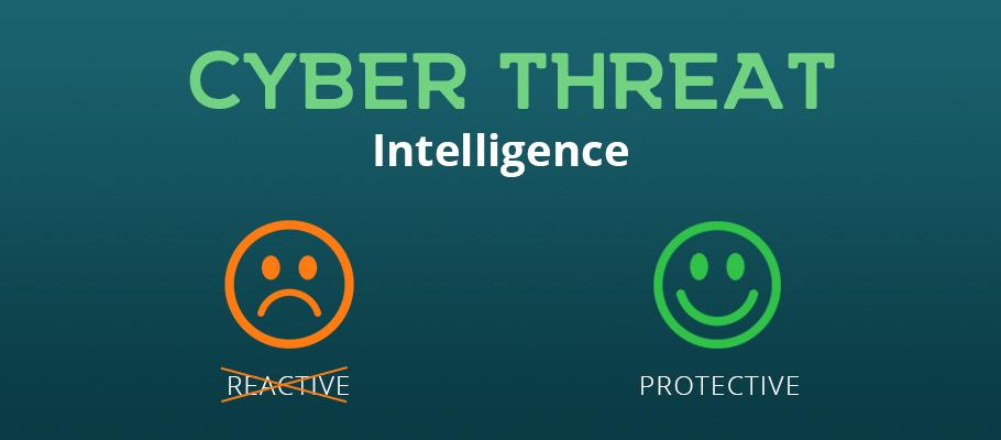 cyber threat intelligence reactive proactive