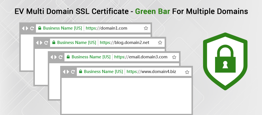 EV Multi Domain SSL Certificate