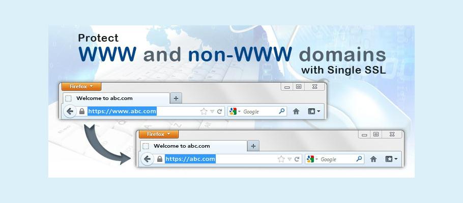 www and non www ssl