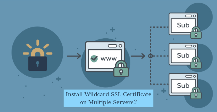 install wildcard ssl certificate on multiple servers