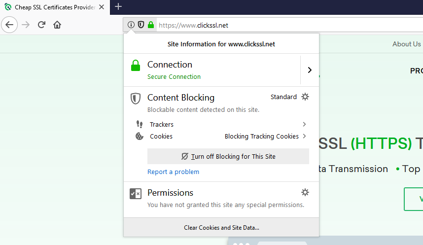how to view ssl certificate details in firefox