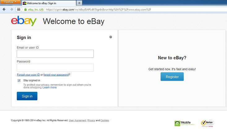 ebay signing