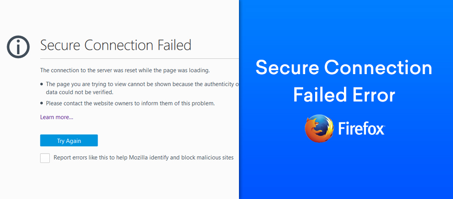 firefox secure connection failed