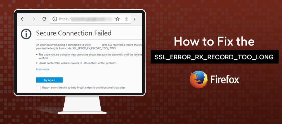 ssl error rx record too long firefox