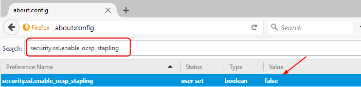 ssl security enable