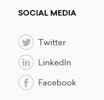 company social media account