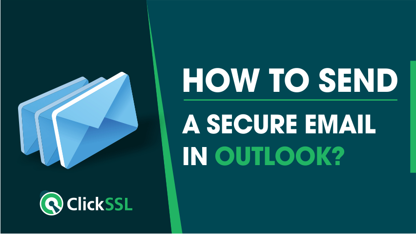 how to send a secure email in outlook