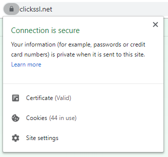 view ssl certificate in chrome browser