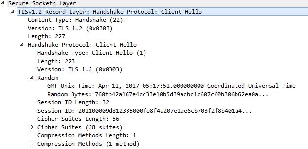 client hello handshake protocol