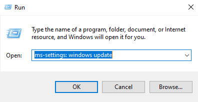 windows update with command