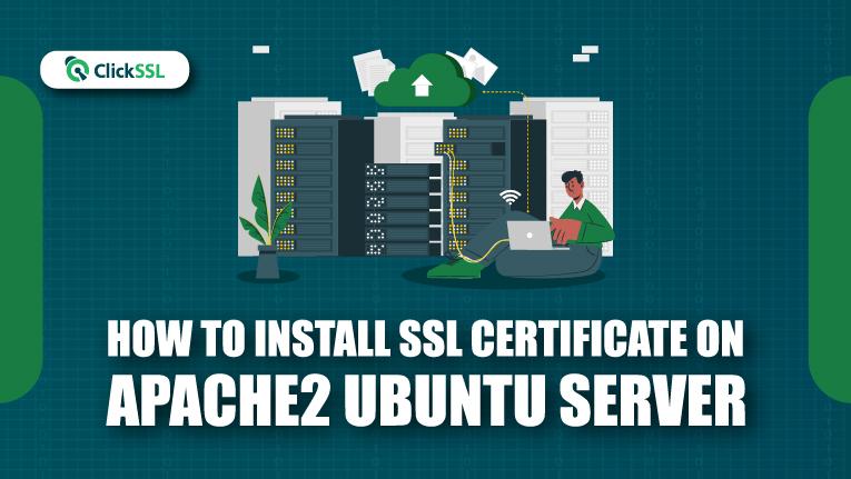 how to install ssl certificate on apache2 ubuntu server