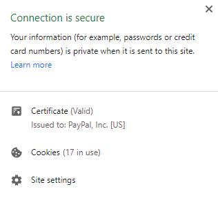 check ev ssl certificate