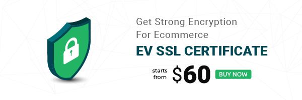 ev ssl promotional banner for blog