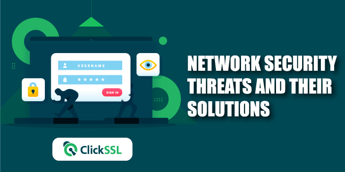 network security threats and their solutions