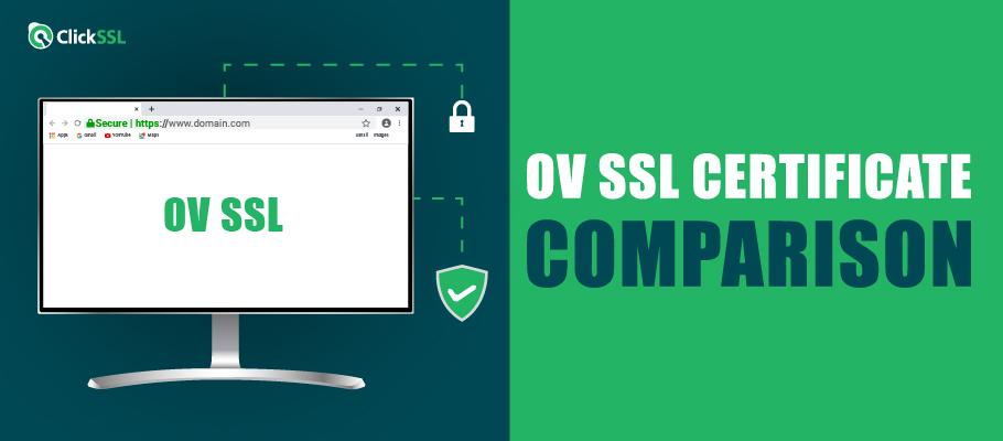 ov ssl certificate comparison